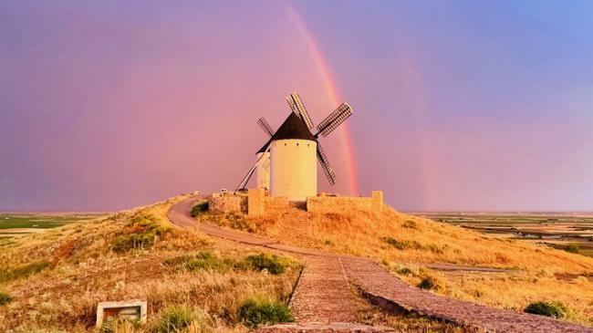La Castilla-La-Mancha, le pays de Don Quichotte et des moulins à vent
