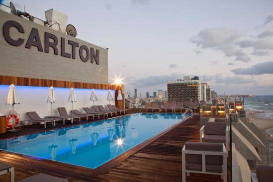 Hotel Carlton – Tel Aviv, pour un confortable séjour balnéaire