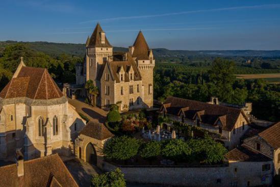 Au fil de la Dordogne, d'un château à l'autre