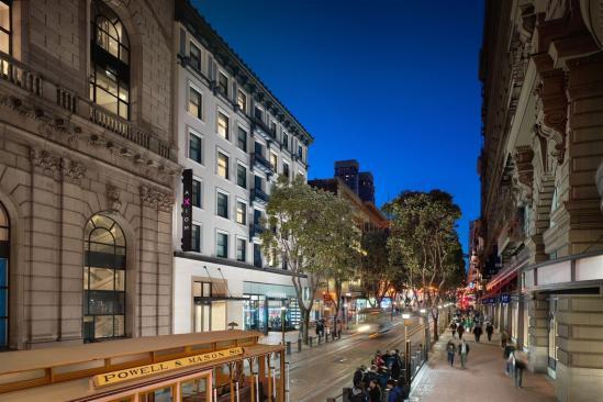 Axiom Hotel San Francisco, design industriel élégant