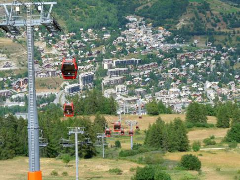Serre Chevalier, la grande station des Hautes-Alpes