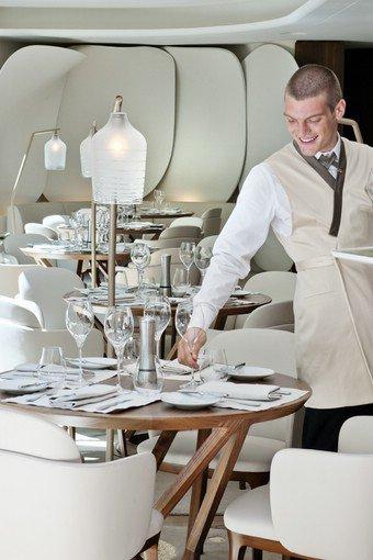Restaurant cam lia paris le brunch revisit par thierry marx voyager magazine - Restaurant thierry marx cuisine moleculaire ...