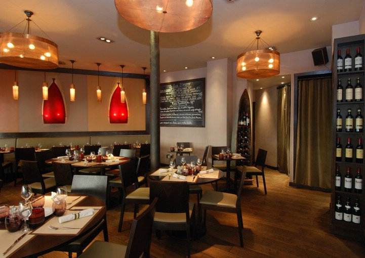 Ambiance bistrot decoration elegant ambiance et dcor de - Cuisine style bistrot chic ...